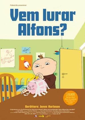 Vem lurar Alfons poster