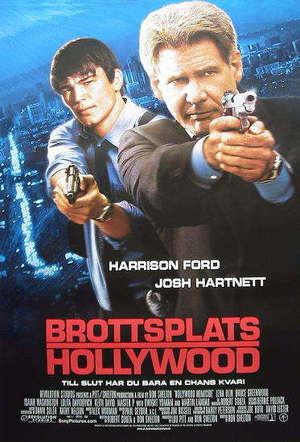 Brottsplats Hollywood poster