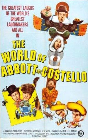 Skratt och skräck med Abbott och Costello poster