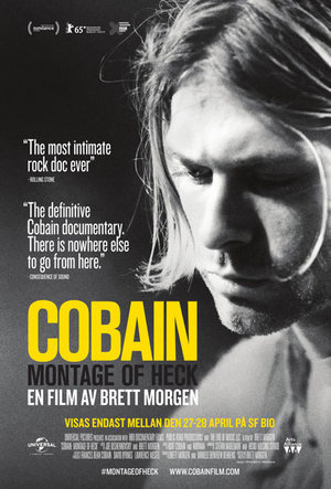Cobain: Montage of Heck poster