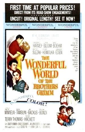 Bröderna Grimms underbara värld poster
