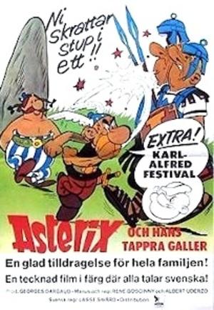 Asterix och hans tappra galler poster