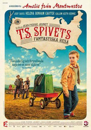 T.S. Spivets fantastiska resa poster