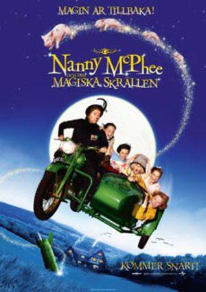 Nanny McPhee och den magiska skrällen poster
