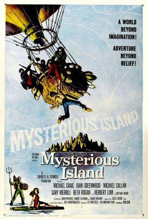 Den hemlighetsfulla ön poster
