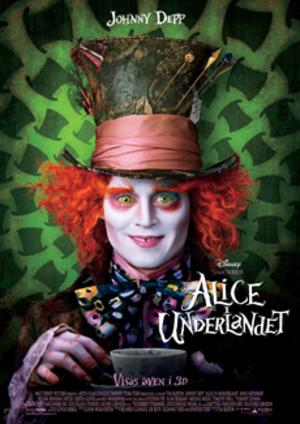 Alice i Underlandet poster