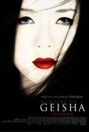 En geishas memoarer poster