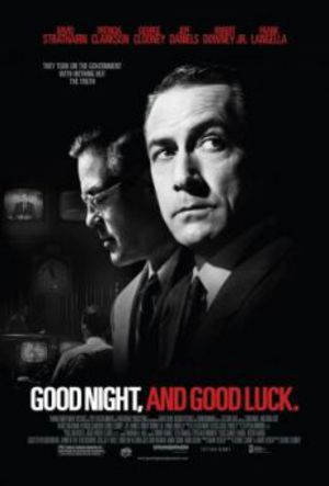Good Night, and Good Luck poster