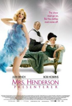 Mrs Henderson presenterar poster