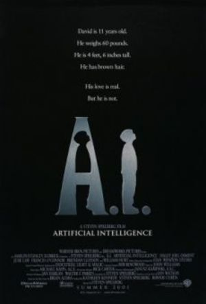 A.I. artificiell intelligens poster