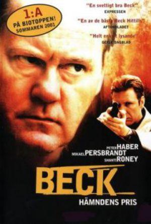 Beck - Hämndens pris poster