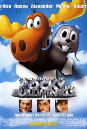 Rocky och Bullwinkle på äventyr poster