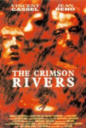 De blodröda floderna poster