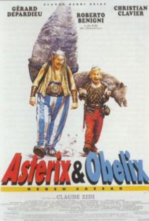 Asterix och Obelix möter Caesar poster
