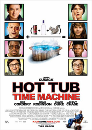 Hot Tub Time Machine poster