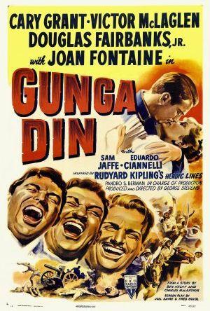 Gunga Din - lansiärernas hjälte poster