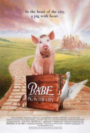 Babe - En gris i stan poster