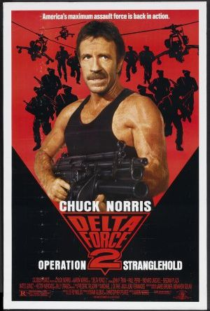 Delta Force 2 poster