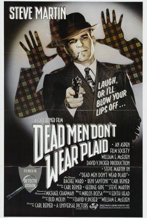 Döda män klär inte i rutigt poster