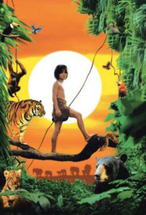 Djungelboken Mowgli & Baloo poster