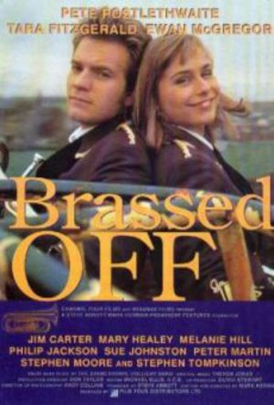 Brassed Off poster