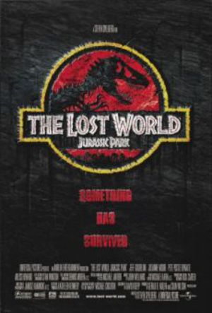 Jurassic Park 2 - The Lost World poster