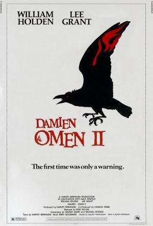 Omen II poster