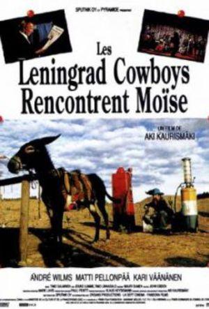 Leningrad Cowboys träffar Moses poster