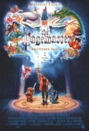 Pagemaster - Den magiska resan poster