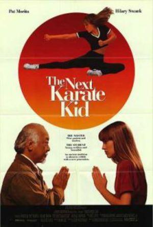 Karate Kid - Mästarens nya elev poster