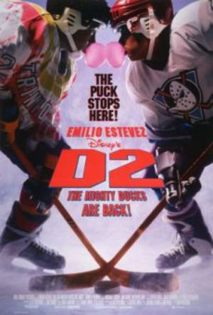 D2 - The Mighty Ducks poster