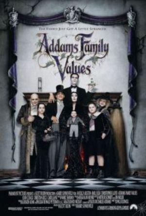 Den heliga familjen Addams poster