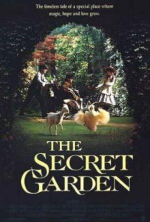 Den hemlighetsfulla trädgården poster