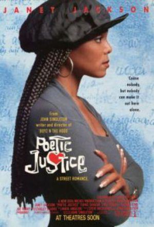 Poetic Justice poster