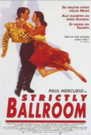 Strictly Ballroom - De förbjudna stegen poster