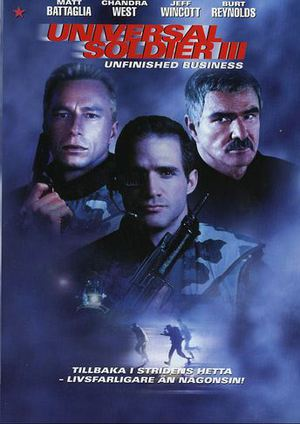 Universal Soldier III: Unfinished Business poster