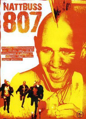 Nattbuss 807 poster