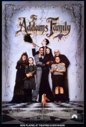 Familjen Addams poster