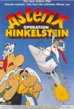 Asterix - Bautastensmällen poster