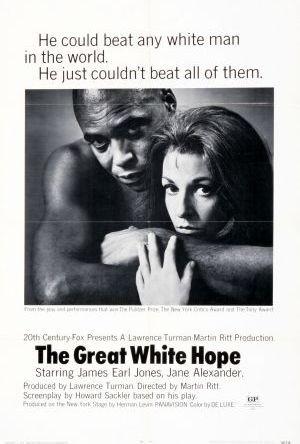 Det stora vita hoppet poster