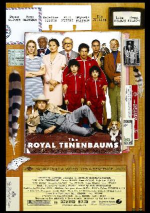 Royal Tenenbaums poster