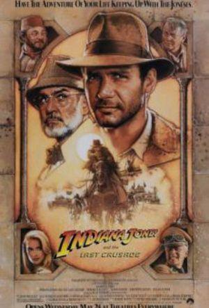 Indiana Jones och det sista korståget poster