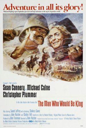 Mannen som ville bli kung poster