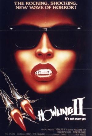 The Howling 2 - Your sister is a werewolf poster