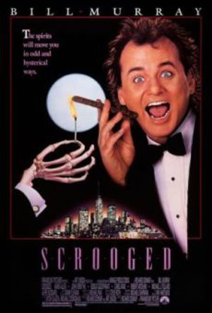 Scrooged - Spökenas hämnd poster