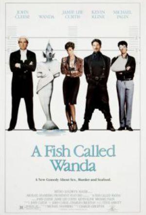 En fisk som heter Wanda poster