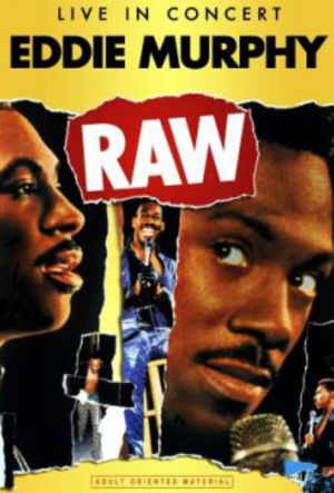 Eddie Murphy Raw poster