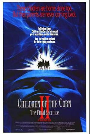 Children of the corn II poster