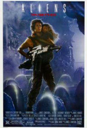 Aliens - Återkomsten poster