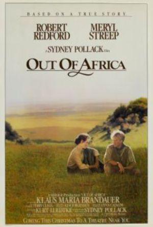 Mitt Afrika poster